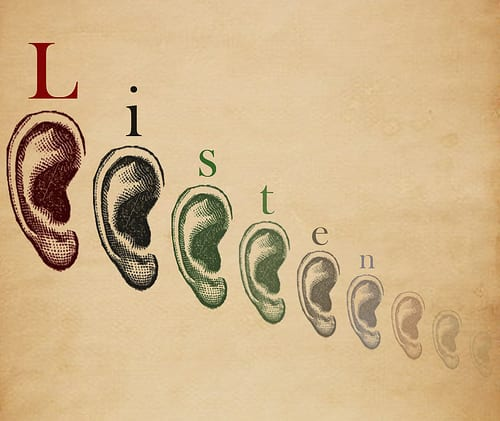 Use your ears to begin good customer service