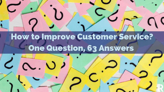 OneReach asks 63 Customer Service Experts One Question