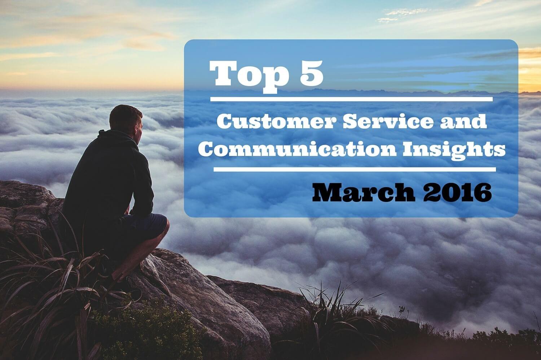 Top 5 Customer Service Tips