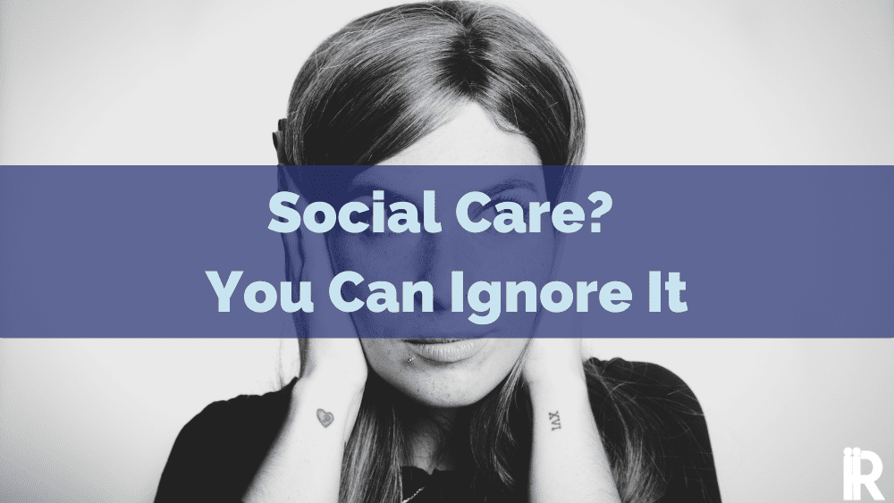 You Can Absolutely Ignore Social Customer Care