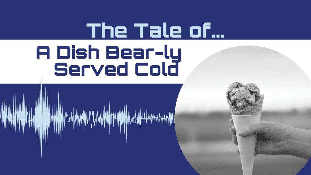 CX Storytime Tale of A Dish Bear-ly Served Cold
