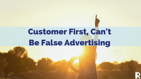 Tales of Not Putting the Customer First