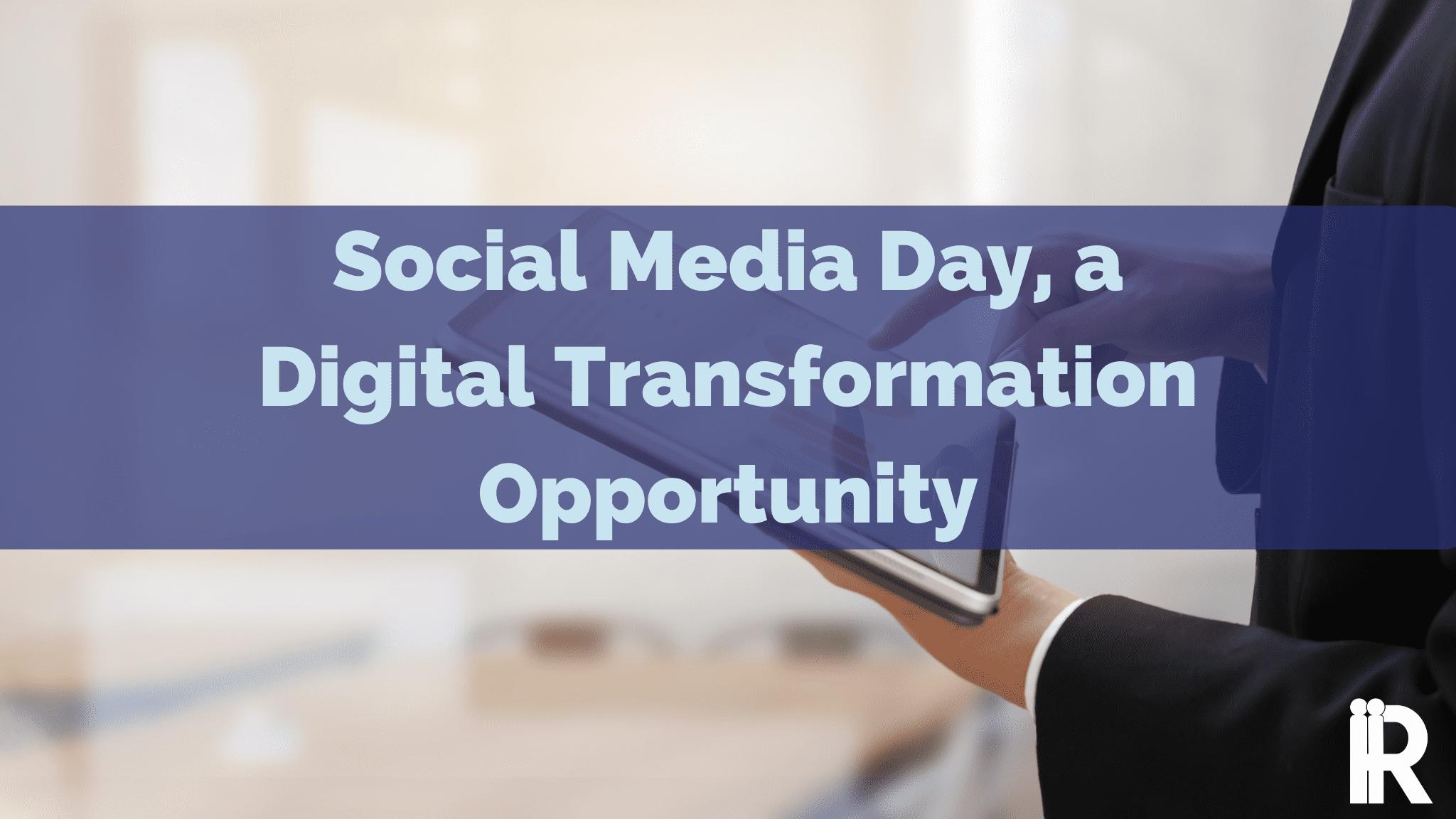 Celebrating Social Media Day